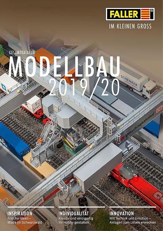 Faller Katalog 2019/2020 mit UVP