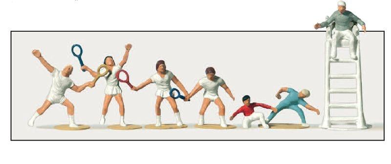 Tennis Spieler 1:87 / H0