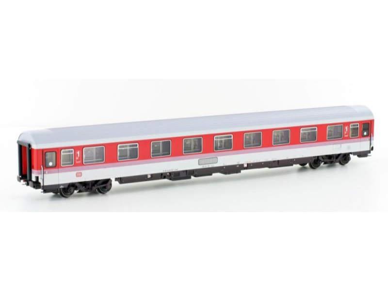 Personenwagen Avmz 207 DB, rot/weiß/rosa Linie, Spur H0