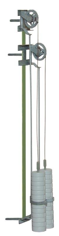 Radspannwerk, einzeln, Metallausführung, Spur H0