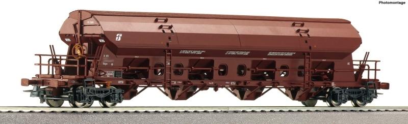 Schwenkdachwagen Tadgns der FS, DC, Spur H0
