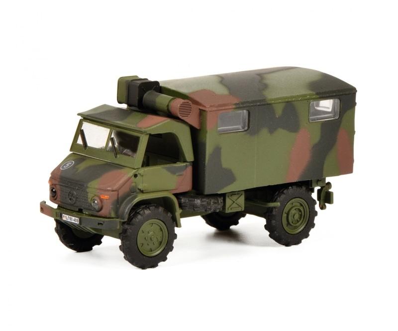 Unimog S404 BUNDESWEHR 1:87 / Spur H0