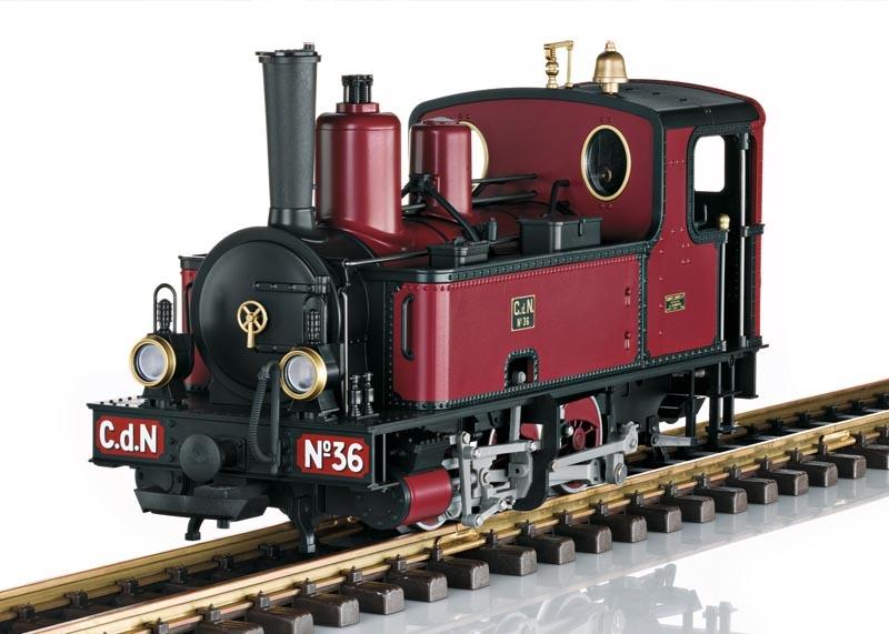 M.T.V. Dampflokokomotive Nr. 36 Sound, mfx, DCC, Spur G