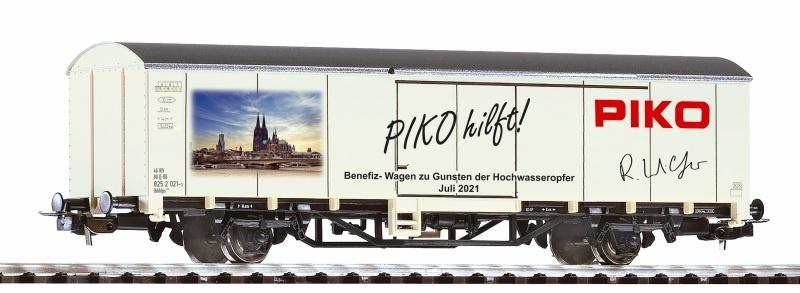 Benefiz-Wagen Gedeckter Güterwagen Unwetter-Katastrophe 2021