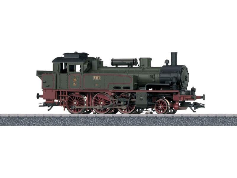 Start up - Tenderlokomotive T12 KPEV H0