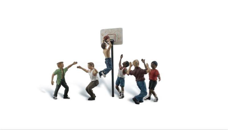 Baskettballspieler, Figuren, Spur H0