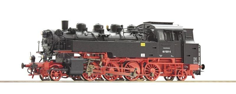 Dampflokomotive BR 86 der DR, Sound, AC, Spur H0