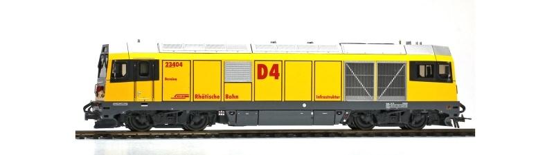 Gmf 234 04 Bernina D4 Diesellok der RhB, Spur H0m
