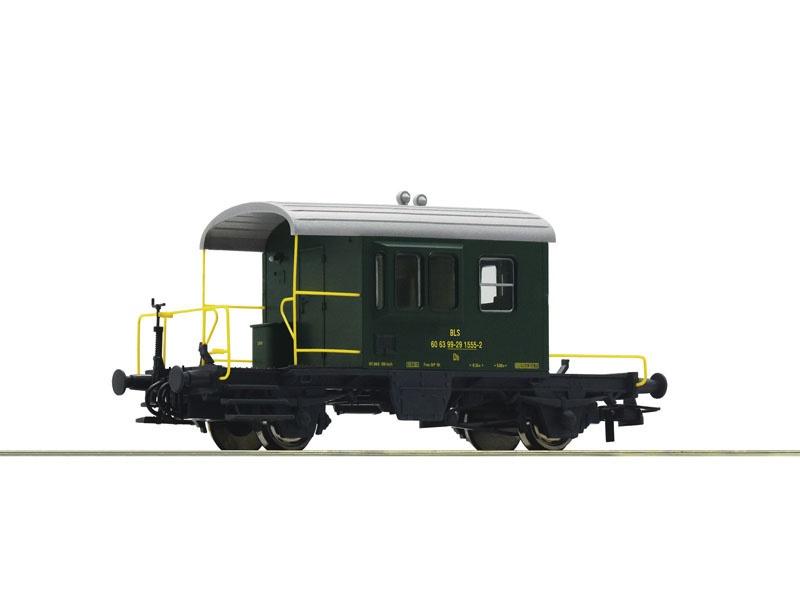 Güterzugbegleitwagen Sputnik der BLS, Spur H0
