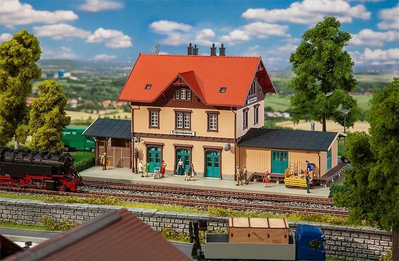 Bahnhof Ochsenhausen, Bausatz, Spur H0