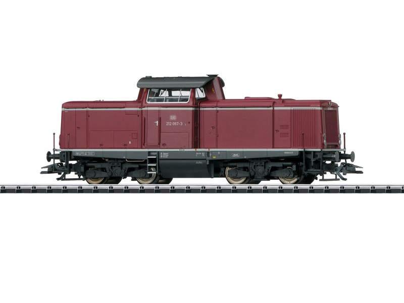 Diesellok Baureihe 212 der DB, mfx, DCC, Spur H0