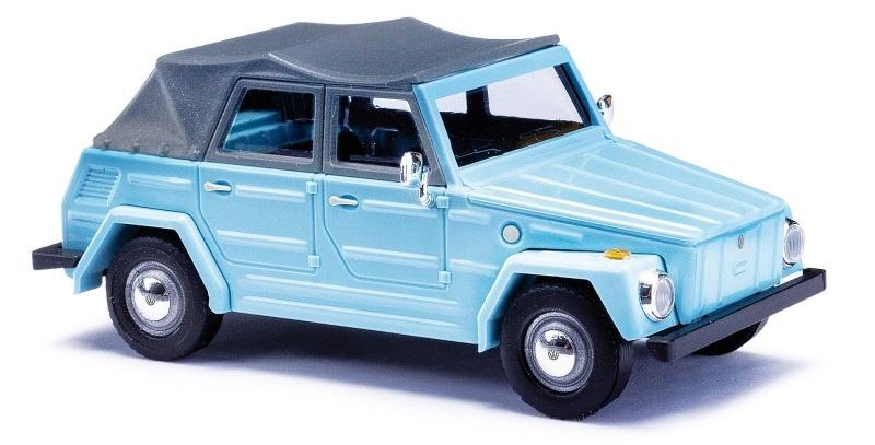 VW 181 Kurierwagen, Blau, Spur H0