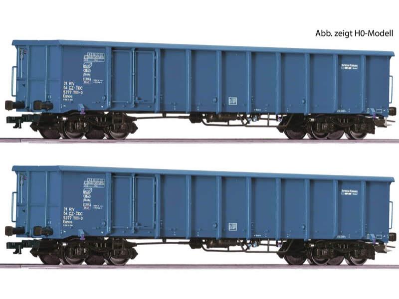 Güterwagen-Set Eanos CD Cargo TT