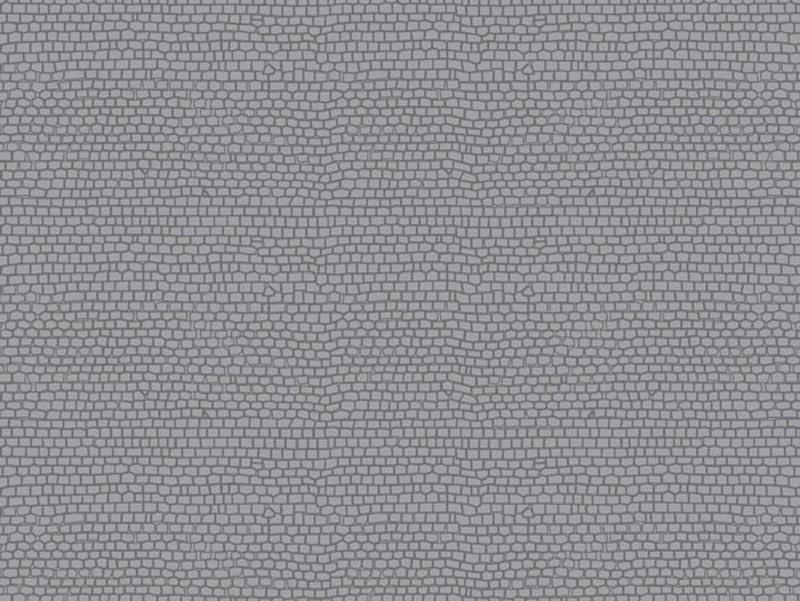 Dekorplatte Pflasterstein gerade lose, Kunststoff, Spur H0