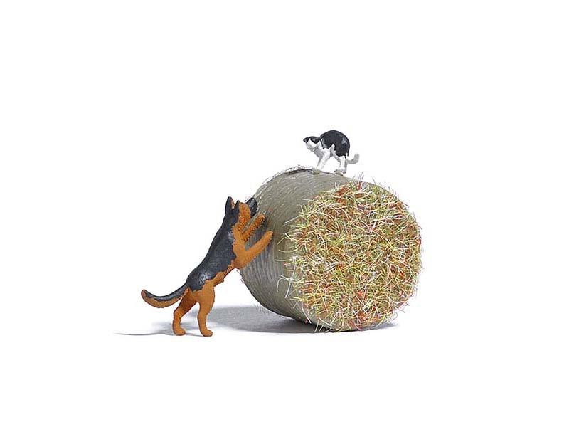Action-Set: Hund jagt Katze, Spur H0