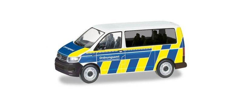 VW T6 Bus Ordnungsamt Düsseldorf 1:87 / H0