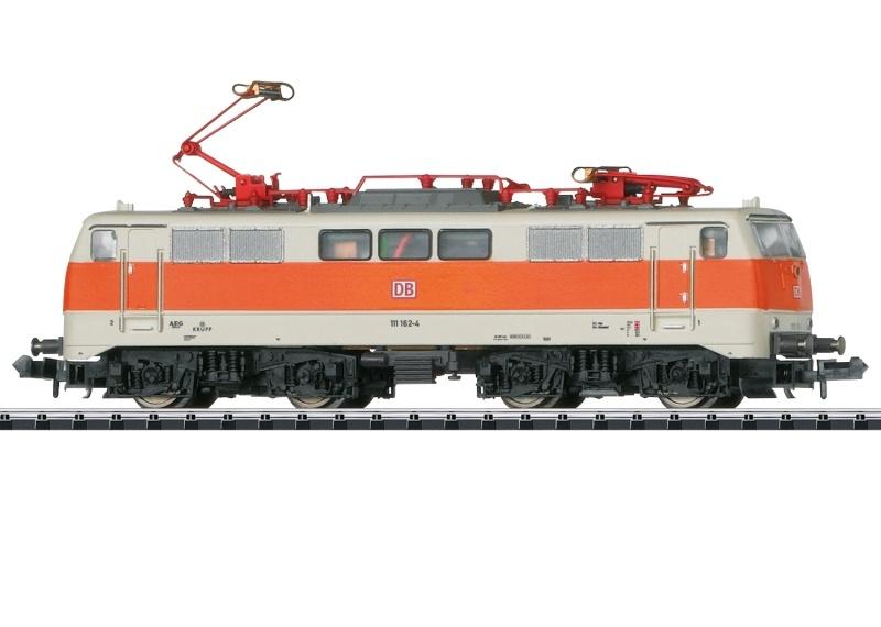 Elektrolokomotive Baureihe 111 der DB AG, Minitrix Spur N