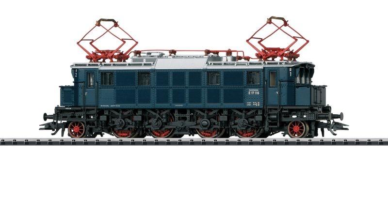 Elektrolokomotive BR E 17 der DB, Sound, mfx, DCC, DC, H0