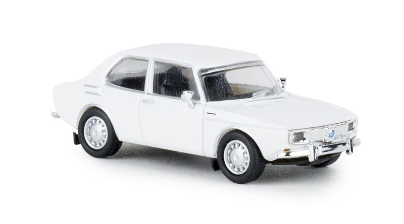 Saab 99, weiss, 1970, 1:87 / Spur H0