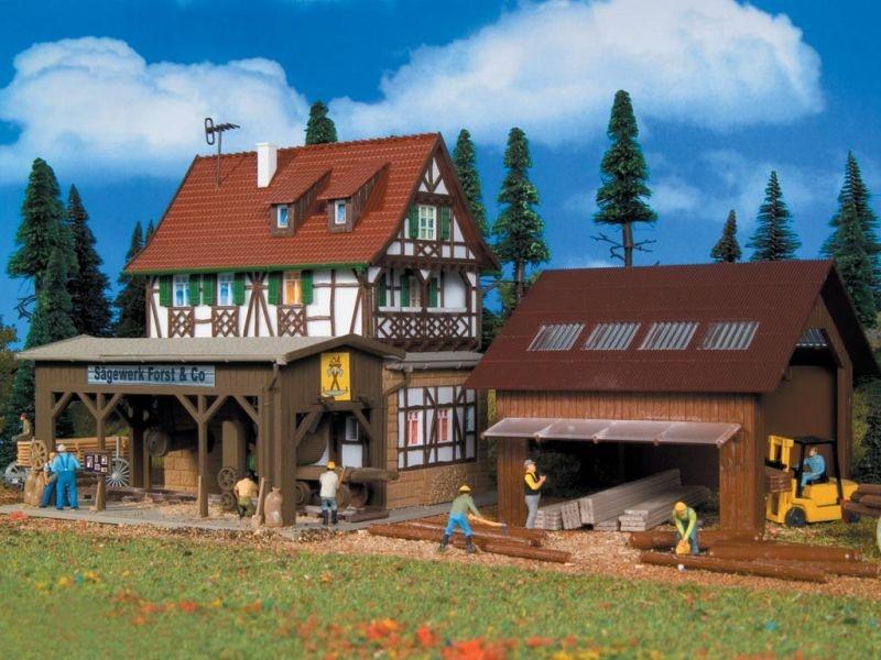 Sägewerk Forst & Co., Bausatz, Spur H0