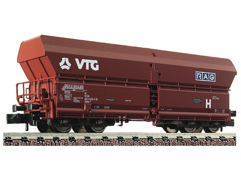 Selbstentladewagen Falns 183 der VTG/RAG, DC, Spur N