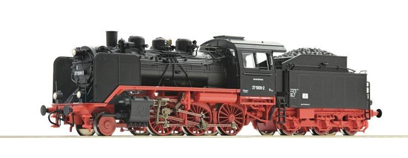 Dampflokomotive 37 1009 der DR, Sound, DC, Spur H0