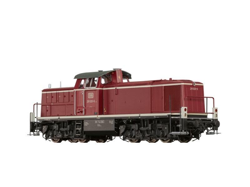 Diesellok BR291 der DB, IV, AC Digital EXTRA, H0