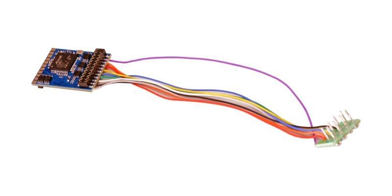 LokPilot 5 DCC/MM/SX/M4, 8-pin NEM652, Retail, Spurweite H0