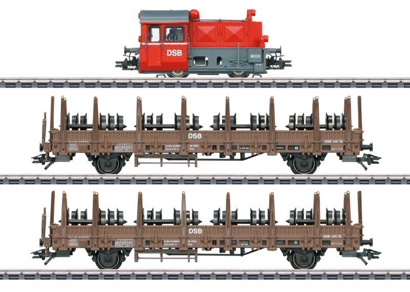 Zugpackung Köf II der DSB, mfx+, DCC, Sound, AC, Spur H0