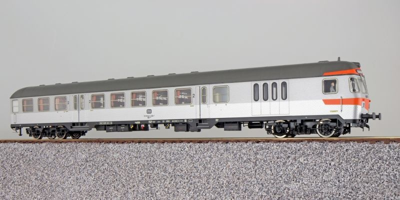 n-Wagen Silberling BDnf735, Steuerwagen DB, silber, DC, H0
