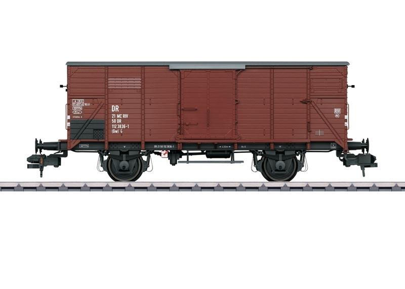 Gedeckter Güterwagen G der DR, Spur 1