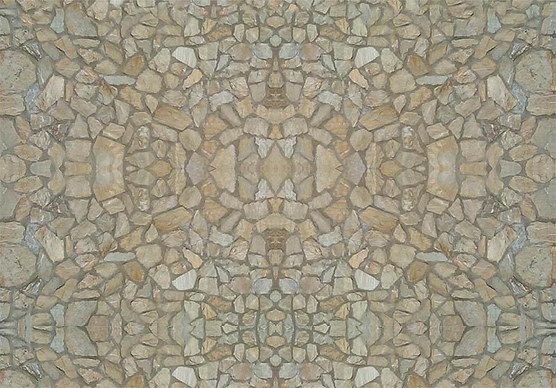 Mauerplatte, Naturstein 250 x 125 x 0,5 mm H0