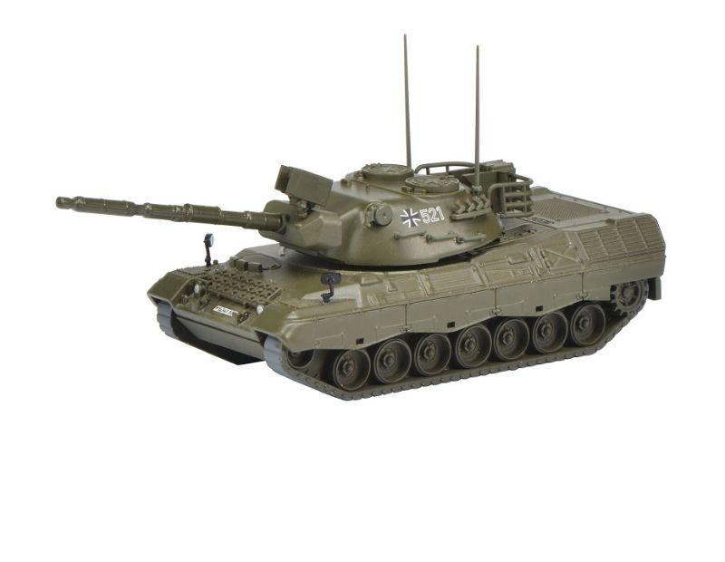Leopard 1A1 Kampfpanzer Bundeswehr, grün 1:87 / Spur H0
