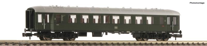 Eilzugwagen 2. Klasse der DB, DC, Spur N