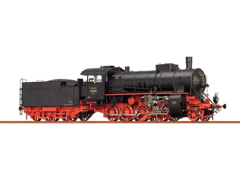 Güterzuglok G 4/5 H DRG, II, DC/S, mit Sound und Rauch, H0