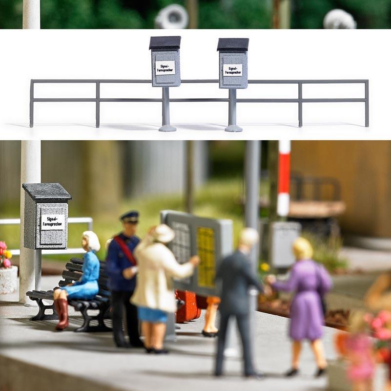 Zwei Holz-Signalfernsprecher, Spur H0