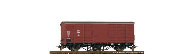 Gedeckter Güterwagen G 82 der DB, Spur H0e