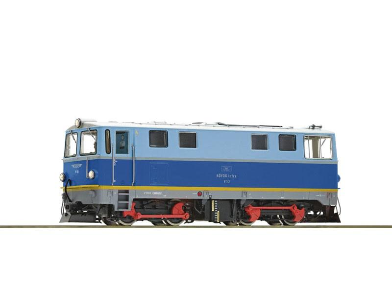 Diesellokomotive V 10 der Növog, Leo-Sound, Spur H0e