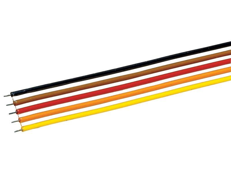 5-poliges Flachbandkabel 10m