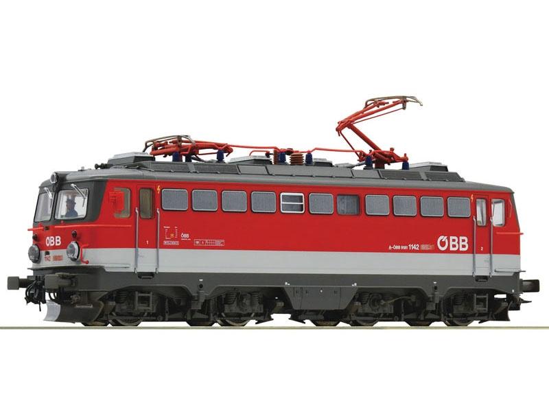 E-Lok Rh 1142 der ÖBB, DC, Spur H0