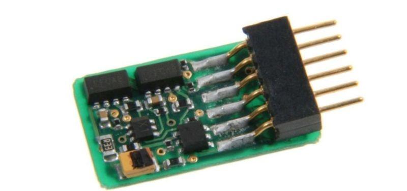 ID2 N-TT Decoder, 6polig, DCC, geeignet für N, TT, H0e & H0m