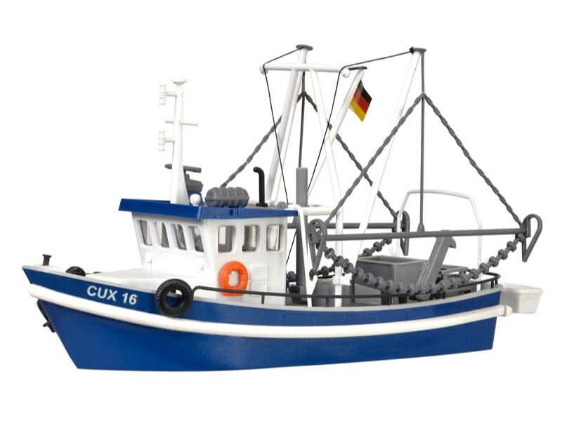 Krabbenkutter CUX 16, Bausatz, Spur H0
