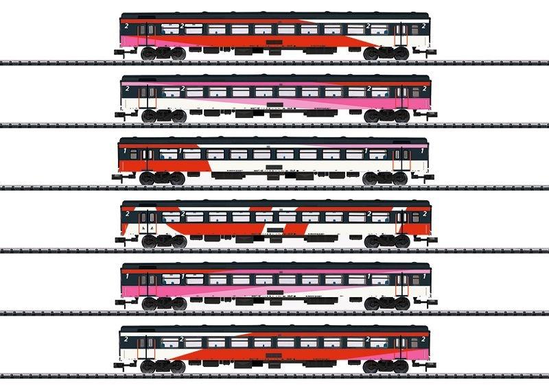 Schnellzugwagen-Set ICRm der NS, Epoche VI, Spur N
