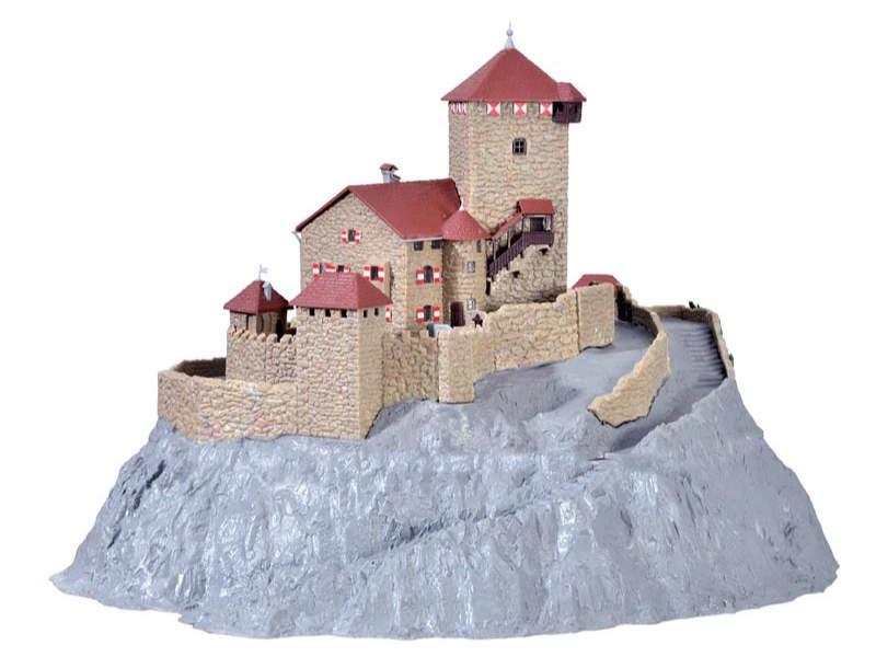 Burg Branzoll, Bausatz, Spur N