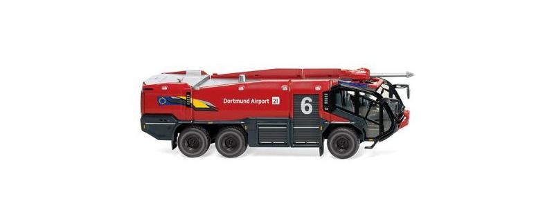 Feuerwehr - Rosenbauer FLF Panther 6x6, Dortmund, 1:87, H0