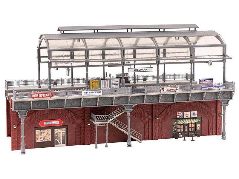 S-Bahn-Station Bausatz, Spur H0