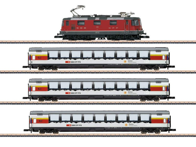 Zugpackung Gotthard Panorama Express SBB Spur Z