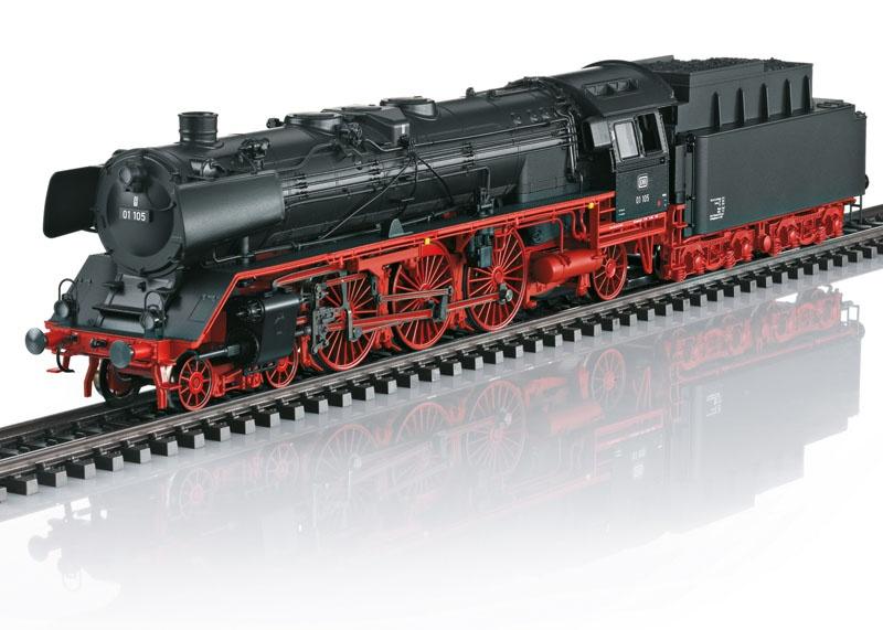 Dampflokomotive BR 01 der DB, mfx+, Sound, AC, Spur H0