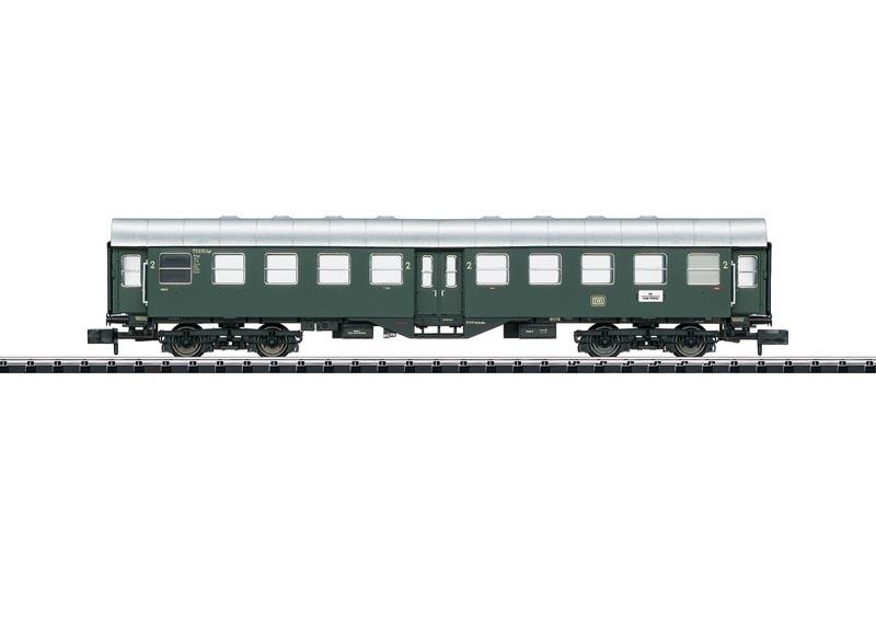 Umbauwagen 2.Klasse Byg der DB, Minitrix Spur N