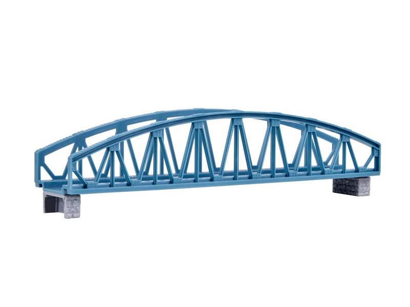 Stahlbogenbrücke, gerade, Bausatz, Spur N